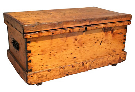 Antique American Pine Chest