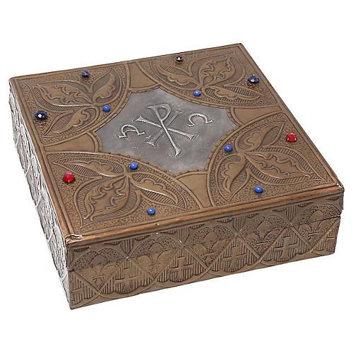 Repoussé Box Attrib to Alfred Daguet