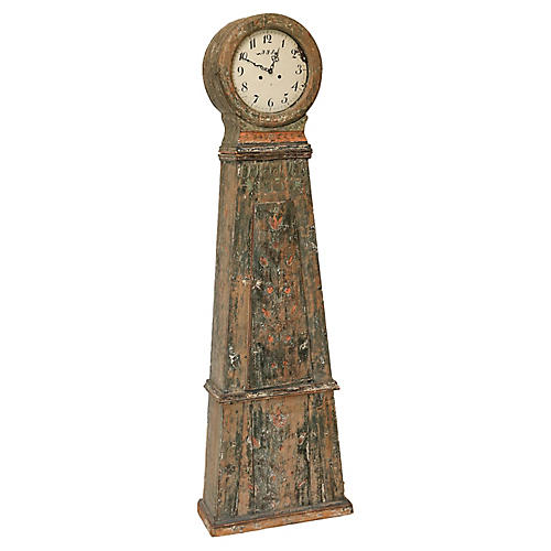 Swedish Longcase Clock, 1837