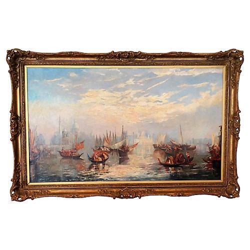 Venice Seascape by Francis Moltino