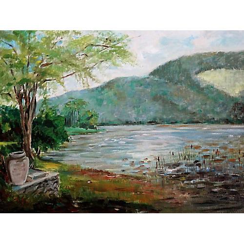 Glimmering Lake View by Jane Ragbach