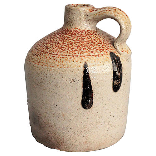 19th-C. Orange Peel Jug