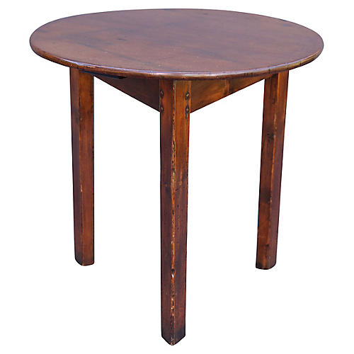 19th-C. English Cricket Table