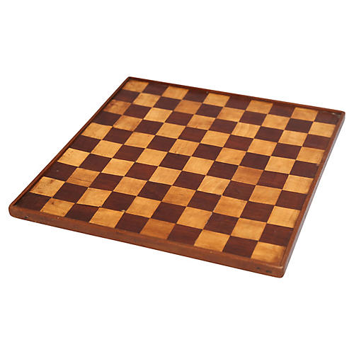 19th-C. Double-Sided Game Board