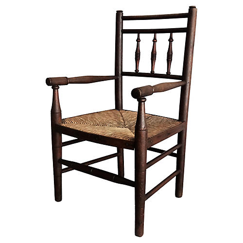 Antique English Child's Chair