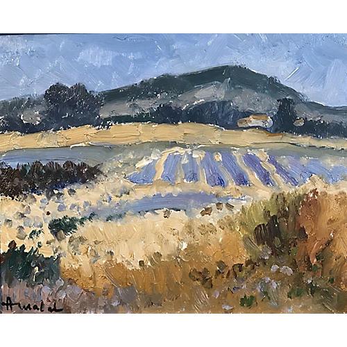 Lavender Fields Provence, Albert Malet