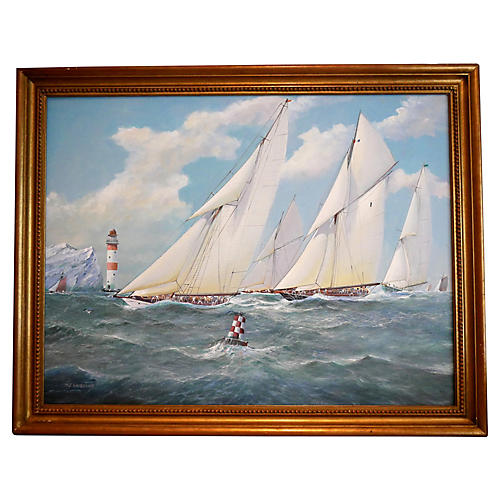 Yacht Racing by M. Whitehand