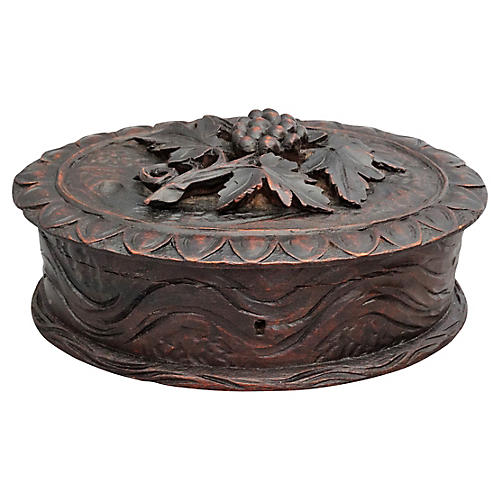 Hand Carved Black Forest Box