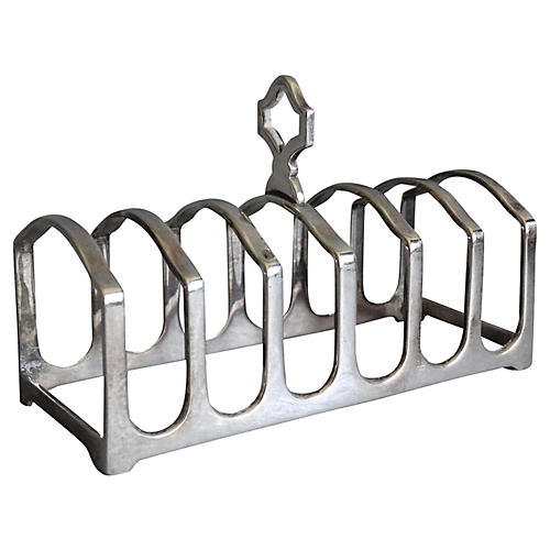 Silver Plate Toast Rack