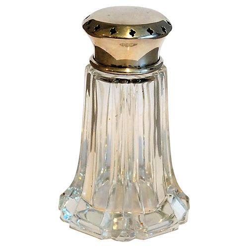 English Silver-Plate Sugar Shaker