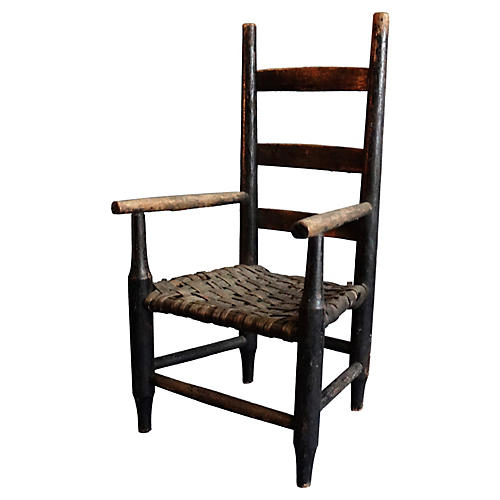 Americana Ladderback Child's Chair