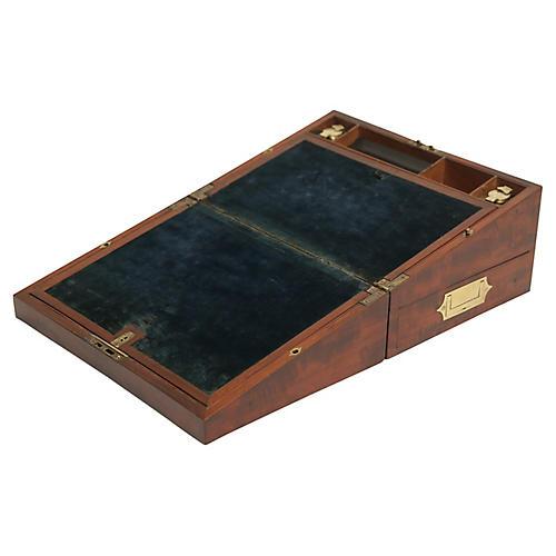 George III Writing Desk Lock & Key