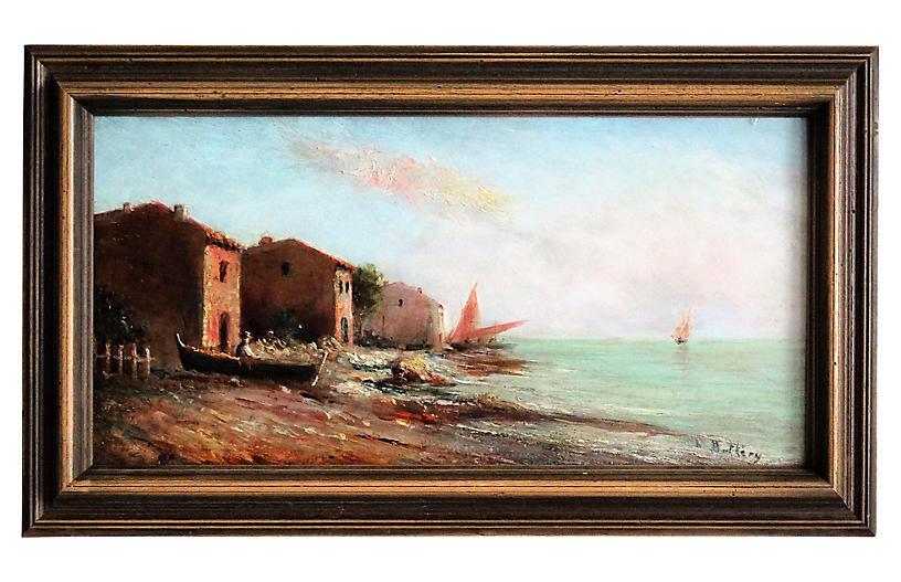 On the Coast by Louis Nattero