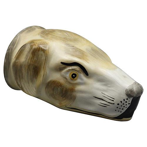 Equestrian Hound Dog Stirrup Cup