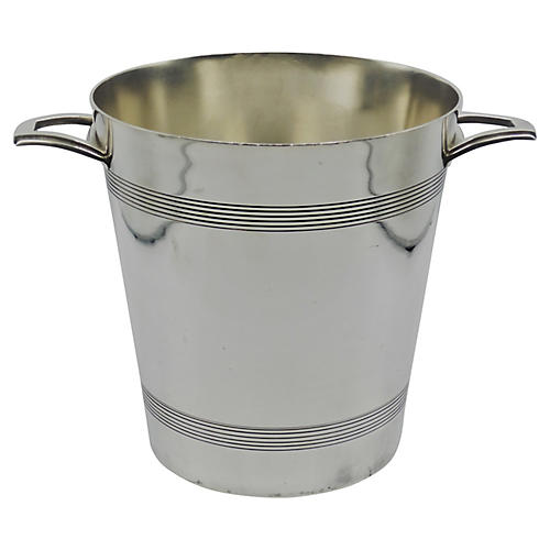 Art Deco French Champagne Bucket