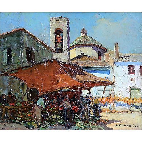 Impressionist Oil Louis Bonamici