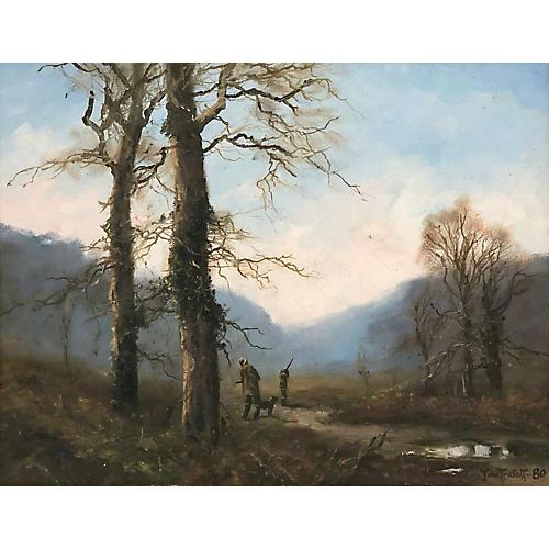 Pheasant Hunting, John Trickett (1952-)