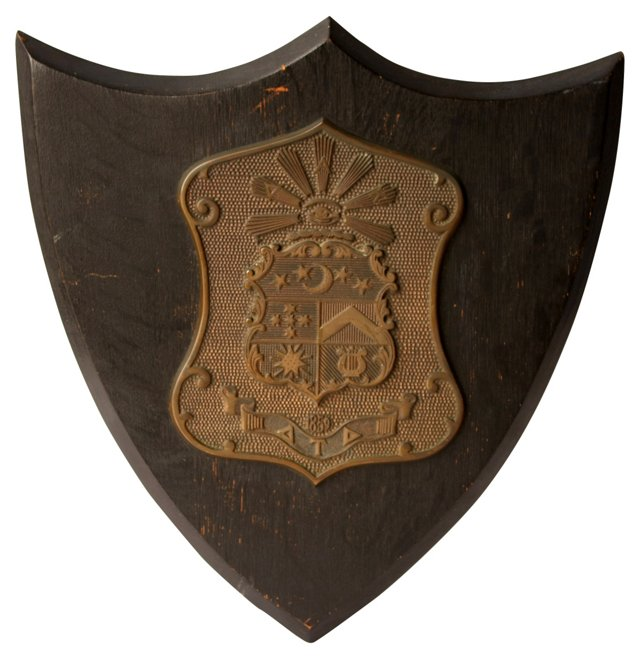 Fraternity Shield Plaque