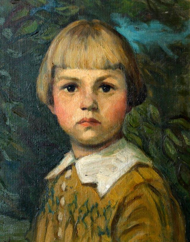 Portrait of a Belgian Girl