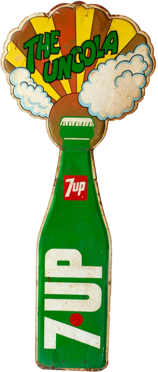 Large 7-Up Sign