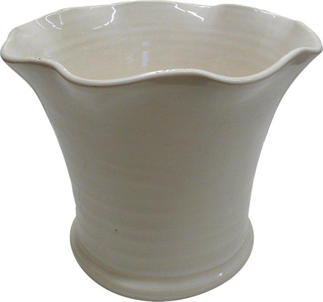 Bauer Ruffled Vase