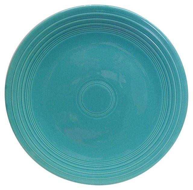 Fiesta Turquoise Chop Plate