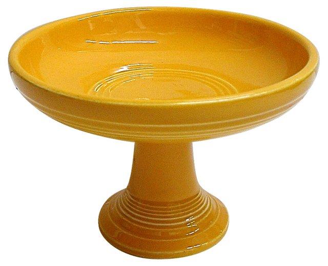 Yellow Fiesta Candy Dish