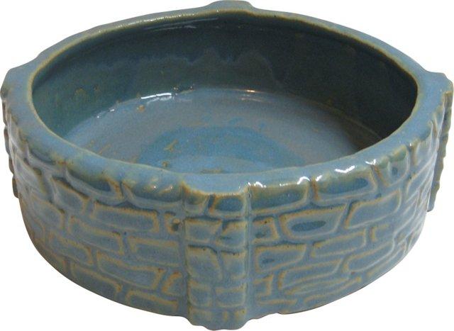 Zanesville Rubble Ware Low Bowl