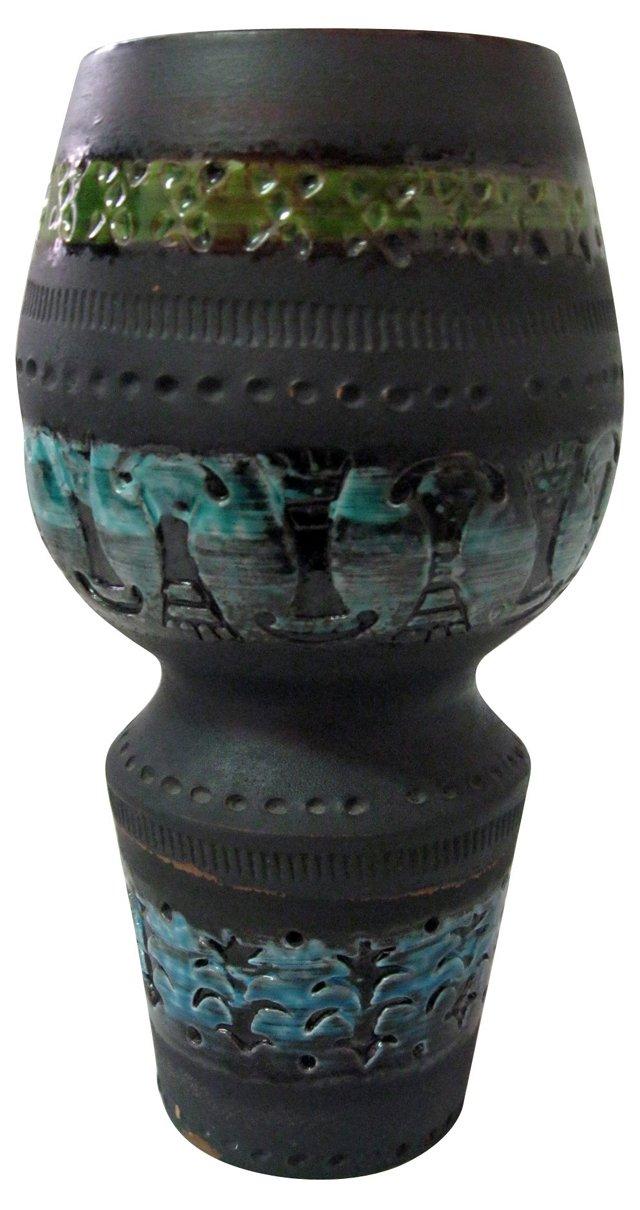 Bitossi Rimini Blu Ceramic Vase