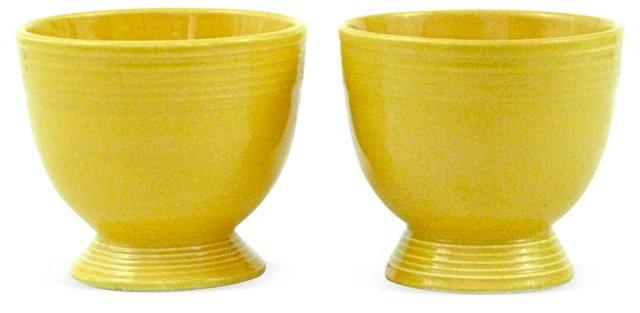 Fiesta Egg Cups, Pair