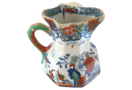 Fenton Ironstone Pitcher