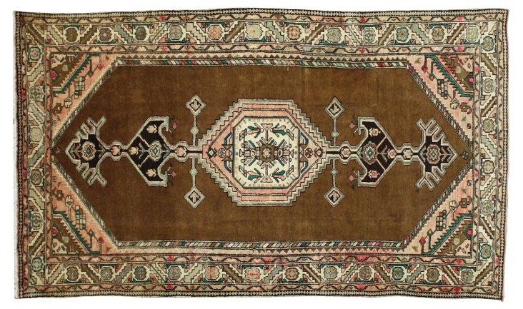 "Vintage Persian Hamadan Rug, 7'7"" x 4'5"""
