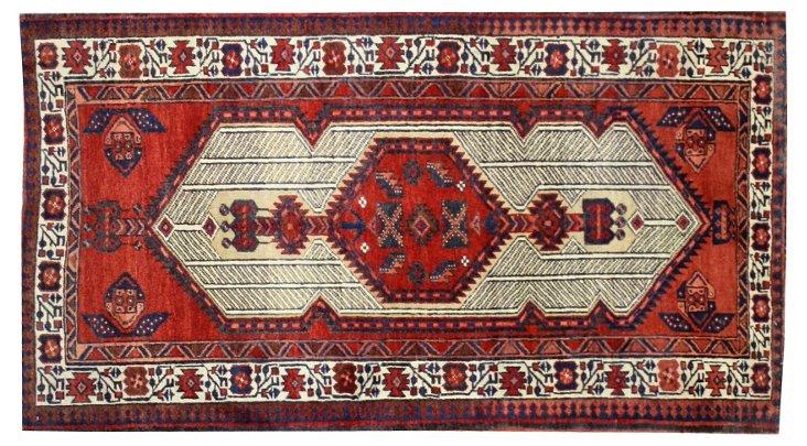"Heriz Persian Rug, 3'2"" x 5'8"""