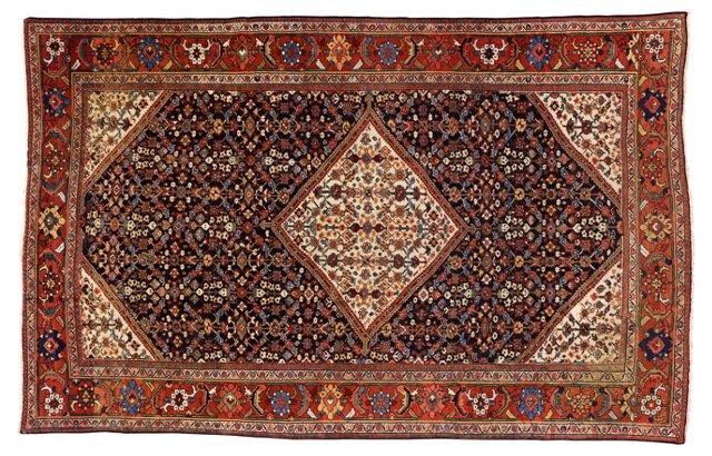 """Antique Persian Mahal, 13' x 8'6"""""""