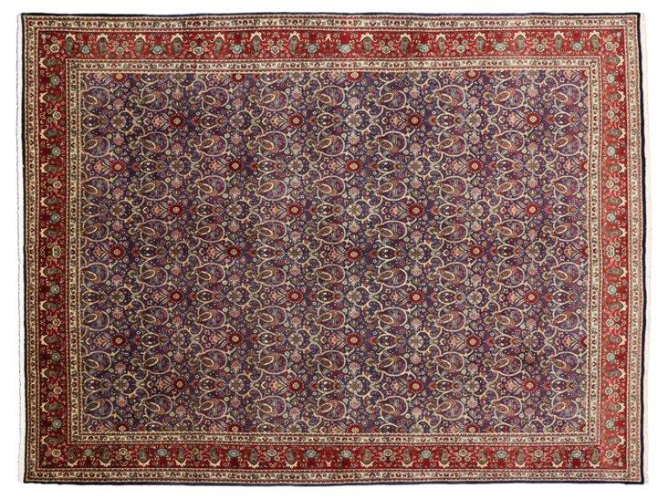 """Persian Tabriz, 10' x 13'2"""""""