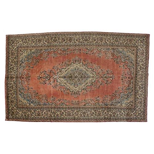 """Persian Hamadan Carpet, 10'4"""" x 16'9"""""""