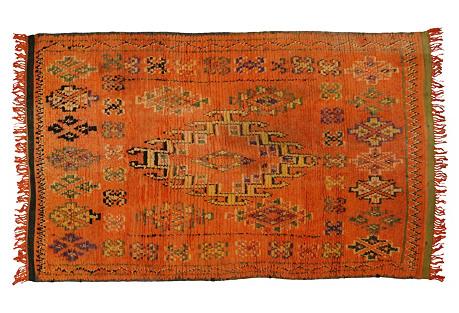 Berber   Moroccan Rug, 4'11
