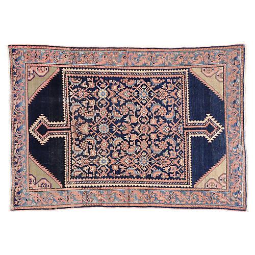 "Antique Persian Malayer Rug, 4'5"" x 6'4"""