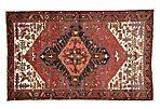 Persian Heriz Rug, 5' x 8'