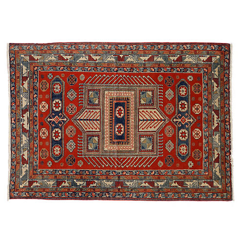 "Armenian Yerevan Rug, 4'5"" x 6'8"""