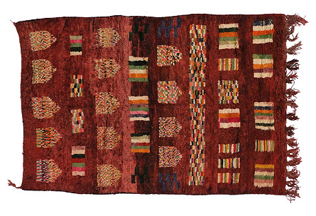 Berber Tribe Moroccan Rug, 5'3