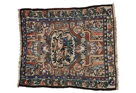 Persian Bakhtiari Rug - 2'9 x 3'2