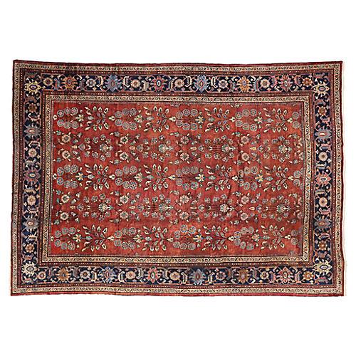 """Antique Persian Mahal Rug, 8'7"""" x 12'3"""""""