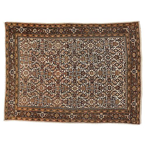 """Antique Persian Mahal Rug, 8'4"""" x 12'"""