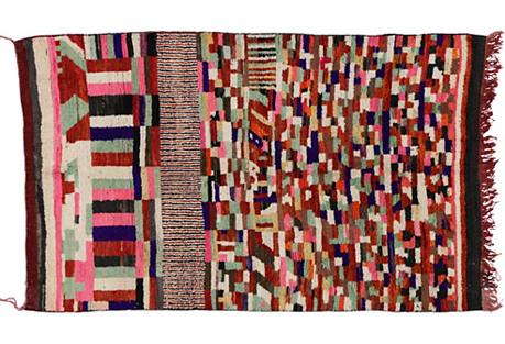 Berber Moroccan Azilal Rug, 5' x 7'11