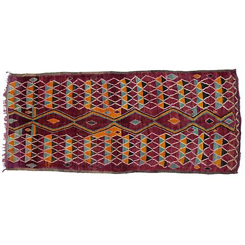 """Moroccan Berber Rug, 6'3"""" x 14'4"""""""