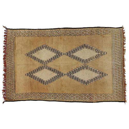 """Moroccan Berber Rug, 6'4"""" x 10'1"""""""