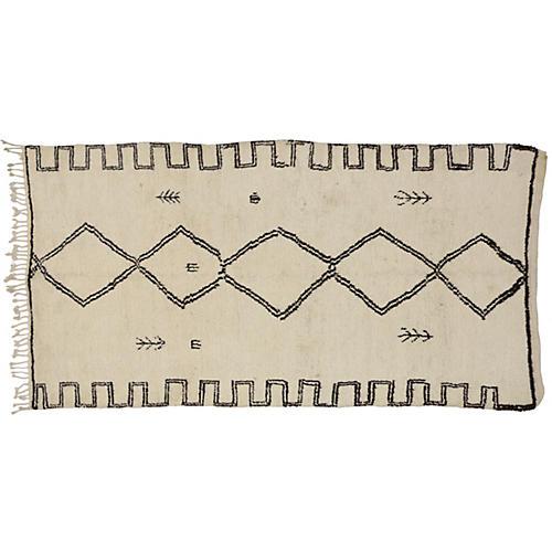 """Moroccan Berber Rug, 4'9""""x8'11"""""""