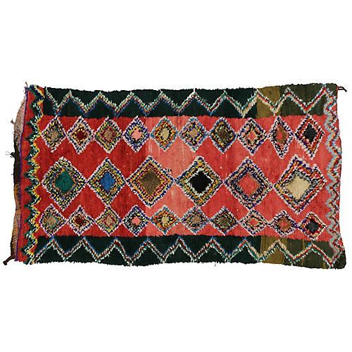 """Moroccan Berber Rug, 4'7""""x8'4"""""""