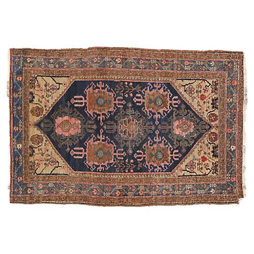 Antique Hamadan Persian Rug - 3'6 x 5'2